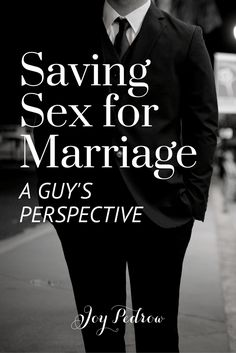 """""""The truth is, nothing in my life has brought more ridicule and harassment than my decision to wait to have sex until marriage."""" Saving Sex for Marriage - A Guy's Perspective"""