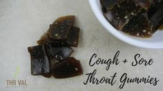 Marshmallow Root Cough  & Sore Throat Gummies