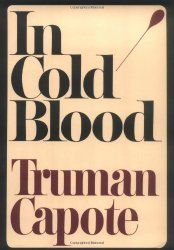 """In Cold Blood by Truman Capote. If you've ever taken a journalism class, you've probably read Truman Capote's seminal nonfiction book about a murder in a quiet town, """"In Cold Blood."""" It's a classic for a reason. In Cold Blood Book, Que Horror, Real Horror, True Crime Books, Best Book Covers, Come Undone, Cool Books, Big Books, Classic Books"""