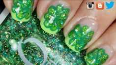 St Patricks day nails by IHaveACupcake