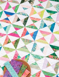 Kissy Fishy quilt from Strip-Smart Quilts II by Kathy Brown