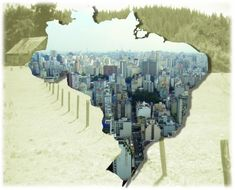 O acelerado processo de urbanização diminuiu a qualidade de vida nas grandes cidades.