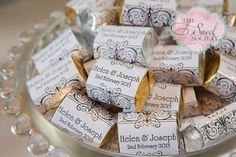 %%title%% - Hostess with the Mostess Wedding Candy, Wedding Desserts, Wedding Favors, Wedding Events, Wedding Ideas, Wedding Tables, Weddings, Elegant Wedding, Dream Wedding