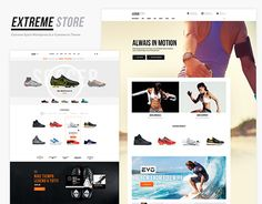 If you are a sports retailer looking to sell online, we are presenting you Extreme store. Extreme store is a responsive e-commerce theme build for an online store of sport clothing, accessories and equipments.