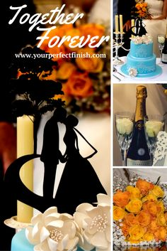 Just like you, your wedding cake deserves the best as well. Find the perfect cake topper for you at www.yourperfectfinish.com