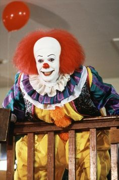 Pennywise the Clown - It (1990).  No one could play Pennywise as well as Tim Curry...