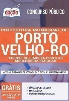Apostila Concurso Prefeitura De Porto Velho 2019 Agente De
