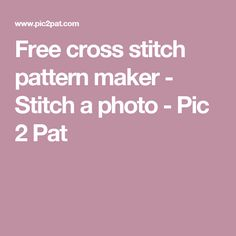 Free cross stitch pa