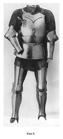 armor from the turn of the 15th century