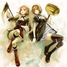 Akari and Hikari photo Harvest Moon Game, Rune Factory, Manga Pictures, Character Inspiration, Design Inspiration, Princess Zelda, Seasons, Cute, Artwork
