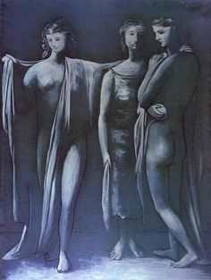 Pablo Picasso. The Three Graces. 1925 year
