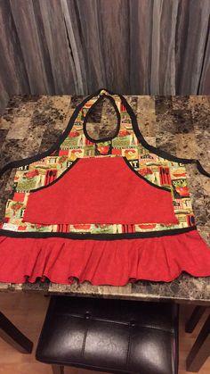Women's Yup'ik Eskimo Kuspuk (Qaspeq) apron done by me 12/2014