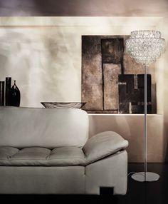 """Giogali"" #Murano #glass #floor #lamp by #Vistosi #light #design #home #interior #modern #Besanza"