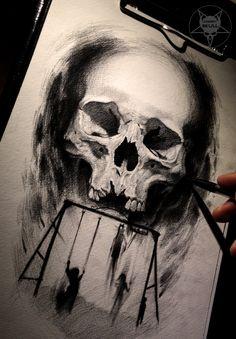 in the dark by AndreySkull.deviantart.com on @DeviantArt