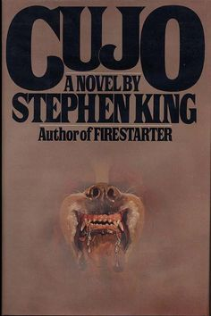 I am pretty sure I received this book for Christmas 1982.  I was 9.  I was terrified by this book.     Cujo is a classic suspense thriller about a family dog who contracts rabies and holds a mother and her son hostage. You get to experience the dogs pain as well as the sheer terror of a desperate mother protecting her son.     Really a great read.