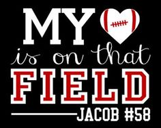 ORIGINAL DESIGN My heart is on that field by WalnutStreetHouse2