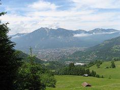 Garmisch. I want to see Germany through my momma's eyes.