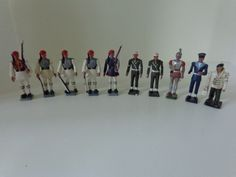 Very Cool Set of Greek Mini Figures. Soldiers. Evzones. Military. 1966 - 1967. From Athens, Greece by LeObjectUnique on Etsy