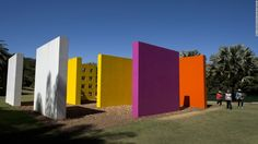 Inhotim is an outdoor art gallery and botanical garden, sprawling over thousands of acres in the Brazilian state of Minas Gerais, founded by former mining magnate Bernardo Paz.
