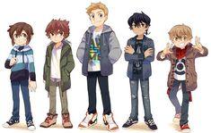 All the gang ! #digitalart Character Concept, Character Art, Character Design, Fire Emblem, Manhwa, Manga Books, Webtoon Comics, Handsome Anime, Cool Sketches