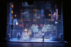 Avenue X. The Alliance Theatre. Set design by Todd Rosenthal.