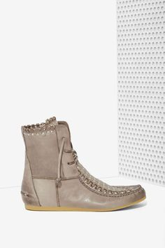 Sam Edelman Katelyn Leather Moccasin Bootie