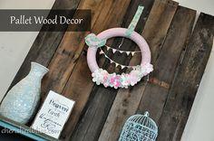 Pallet Wood Decor