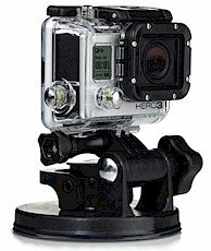 GoPro Camera Suction Cup Aircraft Interior Mount
