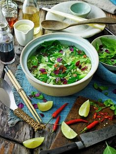 Try this Asian vegetable broth from Jamie Oliver; perfect for the whole family, enjoy a beautiful hearty broth which is quick, easy and truly delicious.