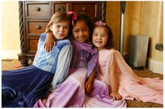 Blue, purple, & pink Appleblossom dresses