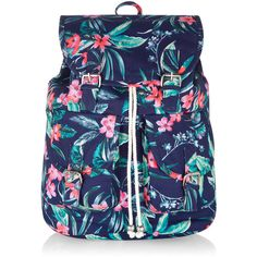 Monsoon Tropical Navy Backpack and other apparel, accessories and trends. Browse and shop related looks.
