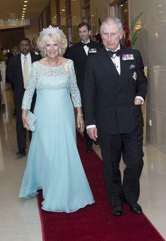 Camilla Parker Bowles Photos: Prince Charles and Camilla Parker Bowles Visit Sri Lanka: Day 2