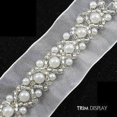 Résultats de recherche d'images pour «bordado con perlas»