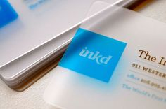 The Top 100 Best Business Cards from 2010 | Creative Fan - Inkd