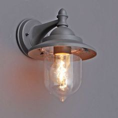 Buitenlamp Oxford wand grafiet