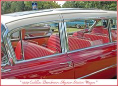 The July 2012 Concours d'Elegance of America at St. John's in Plymouth, Michigan. This was the second year for the show at this location, and it was terrific. An amazing Cadillac station wagon…More Click visit link for more info 1959 Cadillac, 1957 Chevrolet, Chevrolet Trucks, Chevrolet Impala, Diesel Trucks, 4x4 Trucks, Lifted Trucks, Ford Trucks, Vista Cruiser