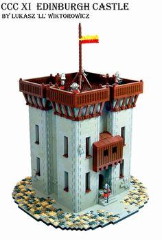 CCC XI Edinburgh Castle: A LEGO® creation by LL Lolino : MOCpages.com