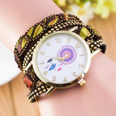National Style Dreamcatcher Bracelet Watch sold by Watch Me. Shop more products from Watch Me on Storenvy, the home of independent small businesses all over the world.