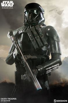 Sideshow is proud to present the Death Trooper Life-Size Figure, based on the formidable imperial troops featured in Rogue One: A Star Wars Story.