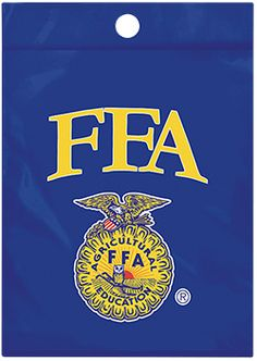 FFA emblem plastic bags for small banquet giveaways and more!