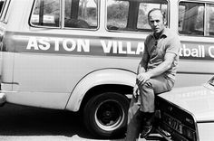 Ron Saunders at the start of Villa's 1974-75 Division Two promotion season