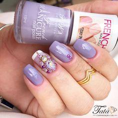 French Nails, Manicure, Nail Polish, Beauty, Finger Nails, Nail Bar, Beleza, Nails, French Tips