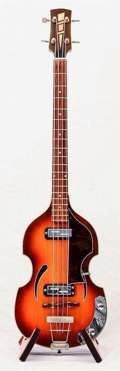 1960s KLIRA Twin Star 162 Bass