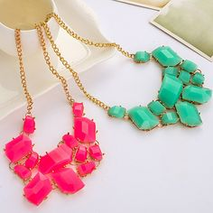 Fashion #necklace, which colour do you like?