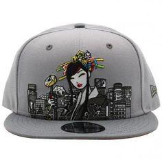 3b3dbb8049a Tokidoki City Scape Snapback. SnapbackSnapback HatsSnapback capBaseball hat