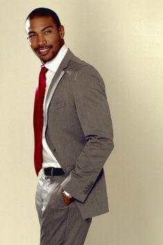 Charles Michael Davis, American actor and model Gorgeous Black Men, Handsome Black Men, Beautiful Men, Beautiful People, Black Man, Charles Michael Davis, Michael Jackson, Dapper Gentleman, Gentleman Style