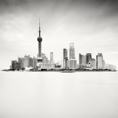 Skyline, Shanghai, China, 2010 by Martin Stavars Cityscape Photography, Urban Photography, Scenic Photography, Cool Pictures, Cool Photos, Amazing Photos, Shanghai Skyline, Shanghai City, Cities