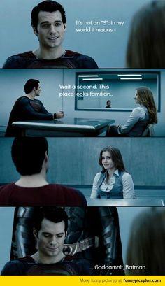 Superman and Batman hahaha