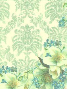 LimeGreen and Blue Floral by Bnspyrd on DeviantArt