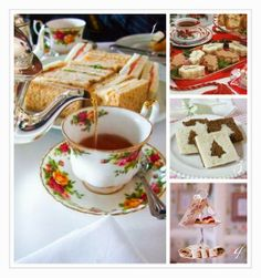 Why not throw a Christmas Tea Party with our gorgeous cups and saucers. Go to vintageforhire.co.uk yo see our collection and place an order.